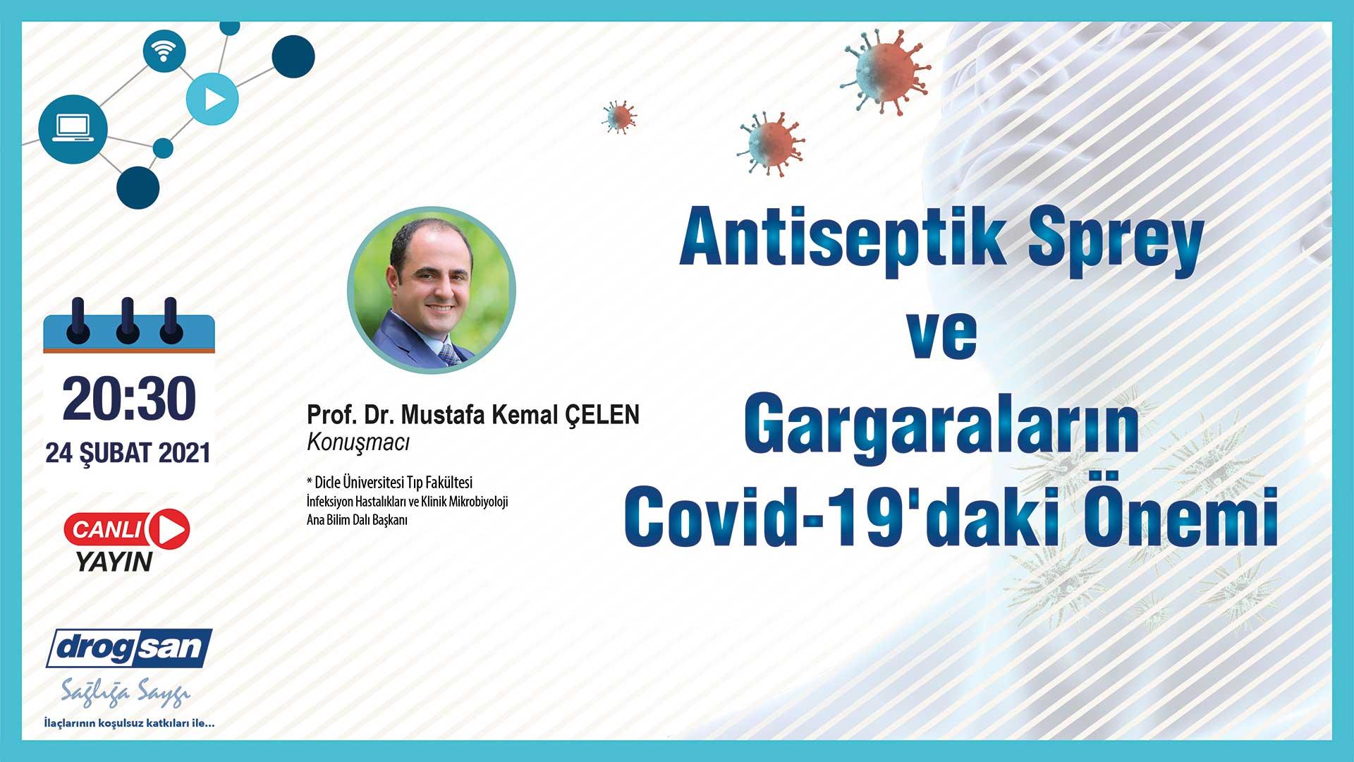 Antiseptik Sprey Ve Gargaraların Covid-19'daki Önemi